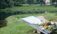 Indië-Herdenking in het park Sacré Coeur bij locatie Regina Pacis in Arnhem